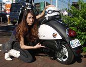 バイクがパンクする前にドリームシールエコ